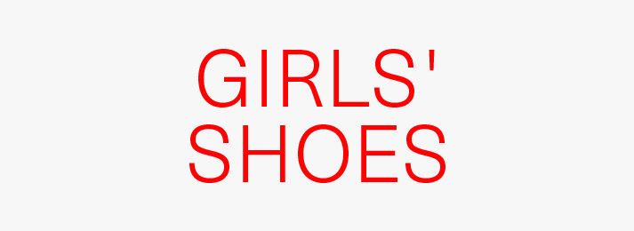 Up to 50% off girls' shoes