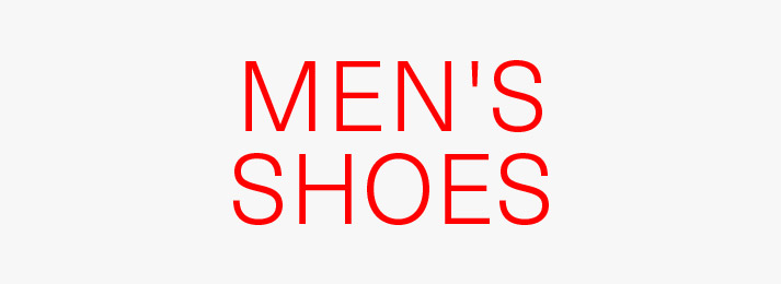 Up to 50% off men's shoes