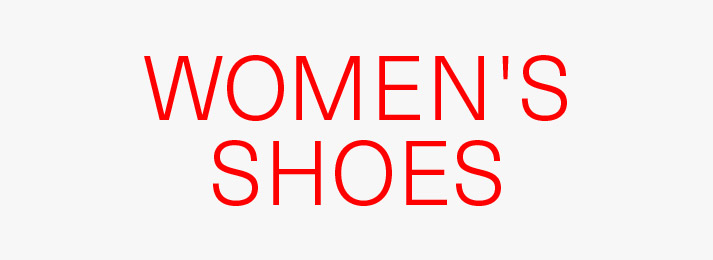 Up to 50% off women's shoes