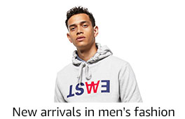 New arrivals in men's fashion