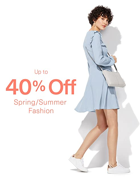Up to 40% off fashion