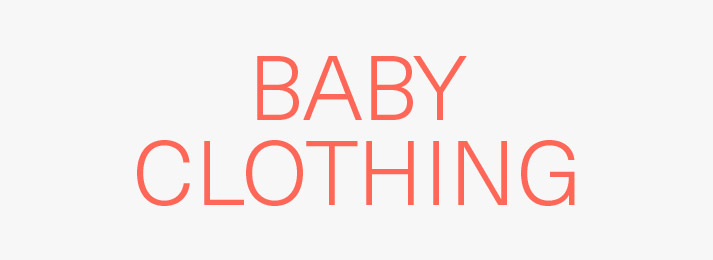 Save on baby clothing