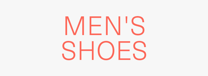 Up to 40% off men's shoes