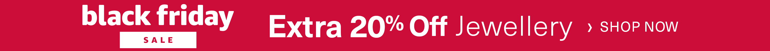 Extra 20% off Jewellery