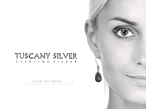 Tuscany Silver - Earrings