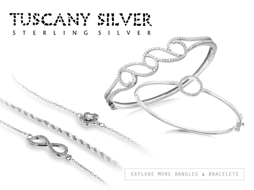 Tuscany Silver - bangles bracelets