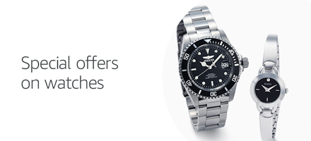 Special offers on watches