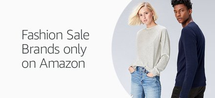 Fashion Sale Brands Only on Amazon