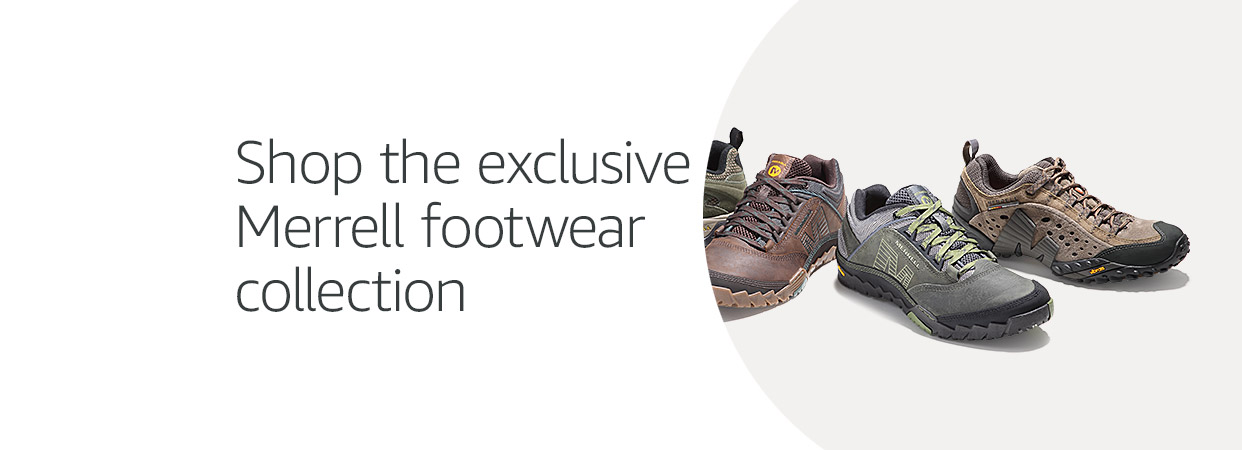 Merrell exclusive footwear collection