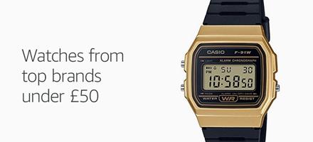 Watches under 50£