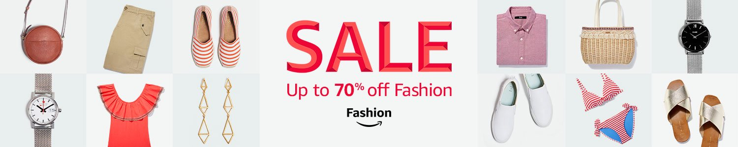 Amazon Fashion: Sale up to 70% off