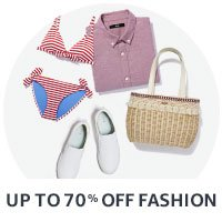 Fashion Sale: now up to 70% Off'