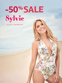 50% off Sylvie's swimwear