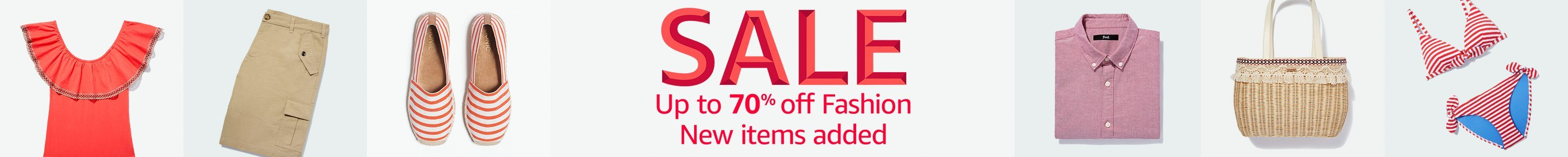Upt to 70% off fashion