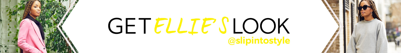 find. Ellie's look