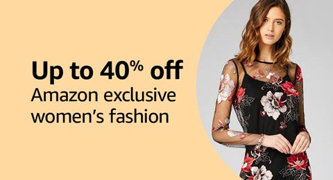 Up to 40% off Amazon exclusive women's fashion