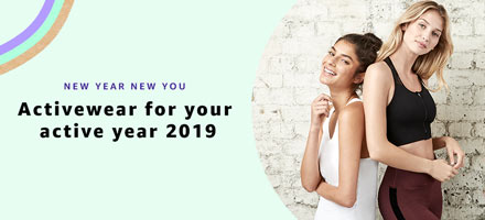 Activewear for your active year 2019