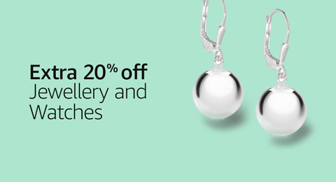 Extra 20% off jewellery and watches for Prime members