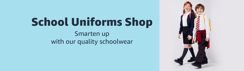 68aa24b4 Amazon.co.uk: School Uniforms & Shoes: Fashion