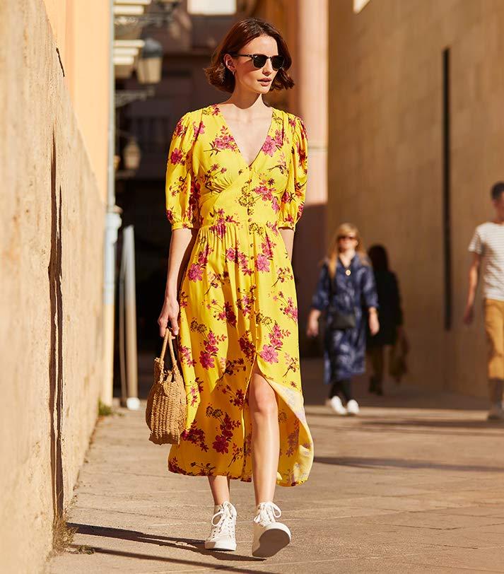 find. print dress