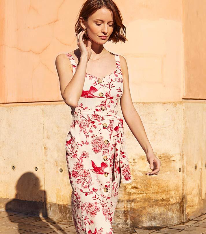 find print dress