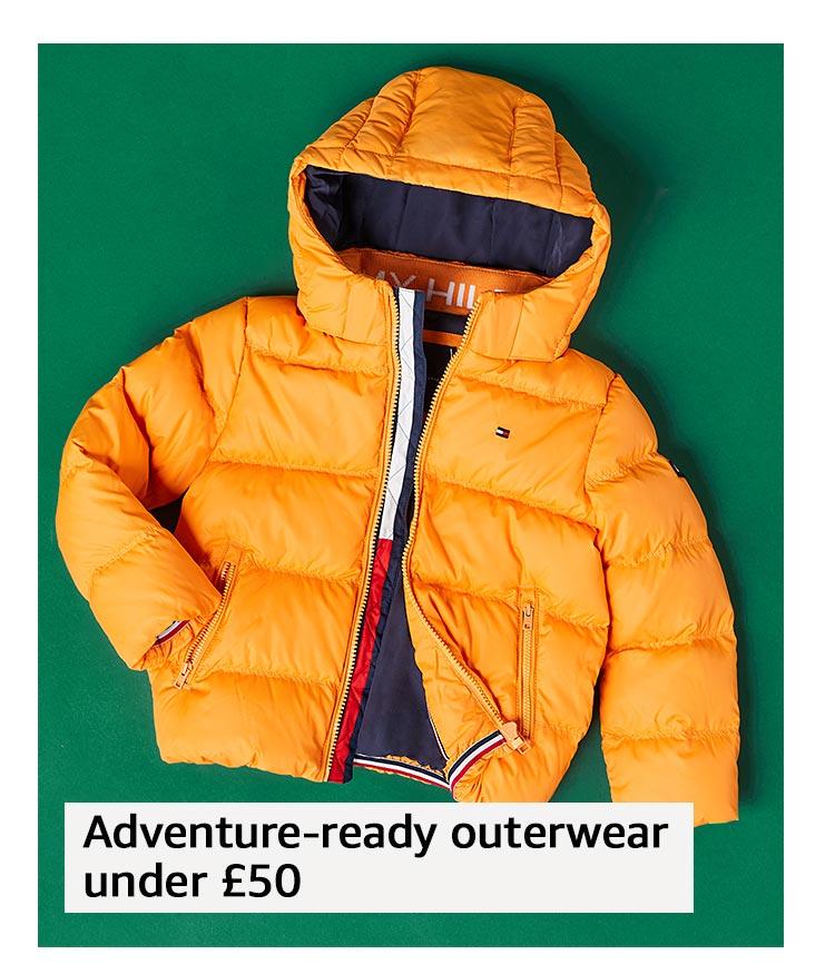 Adventure-ready outerwear under £50