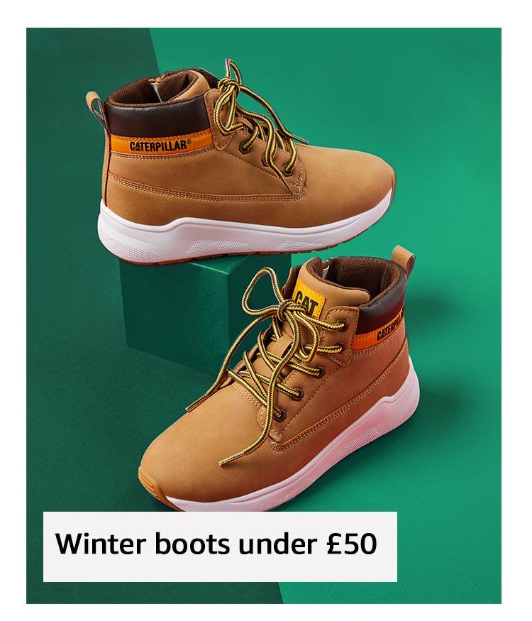 Winter boots under £50