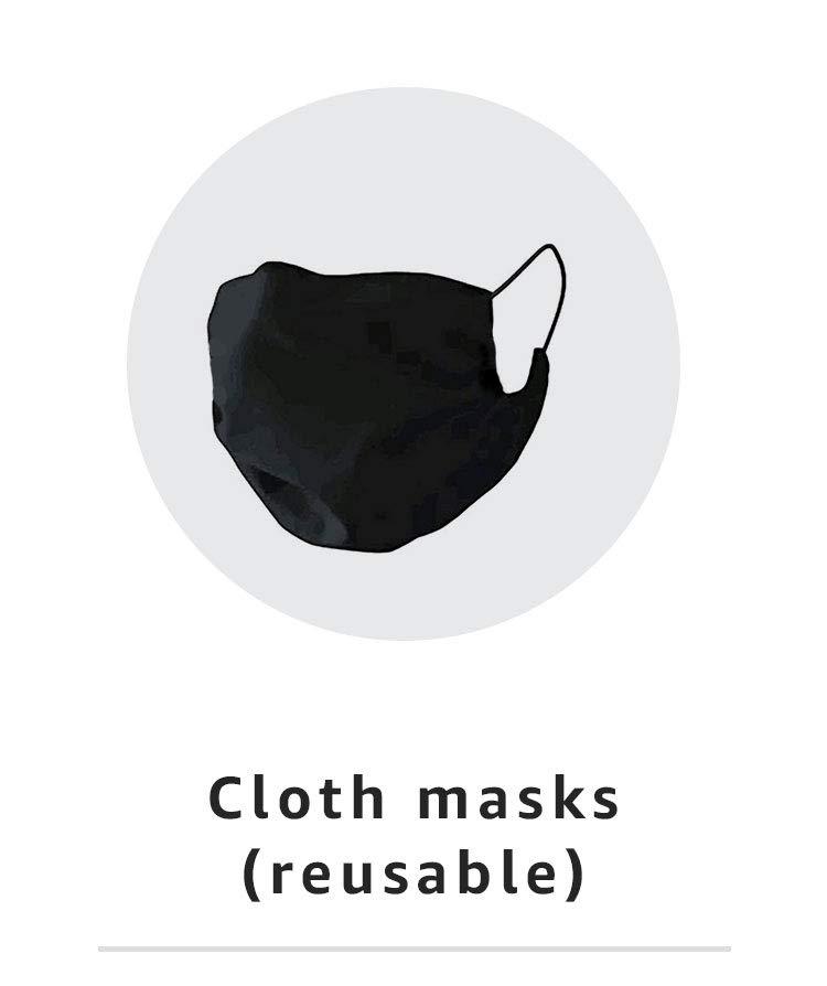 Cloth masks (reusable)