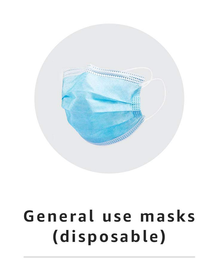 General use masks (disposable)