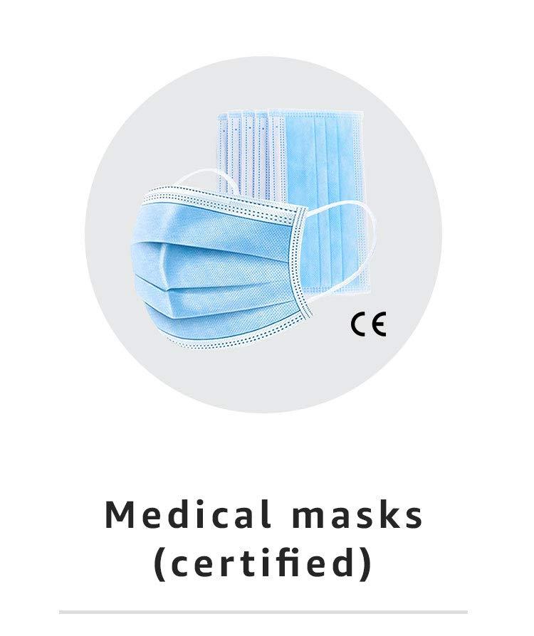 Medical masks (certified)