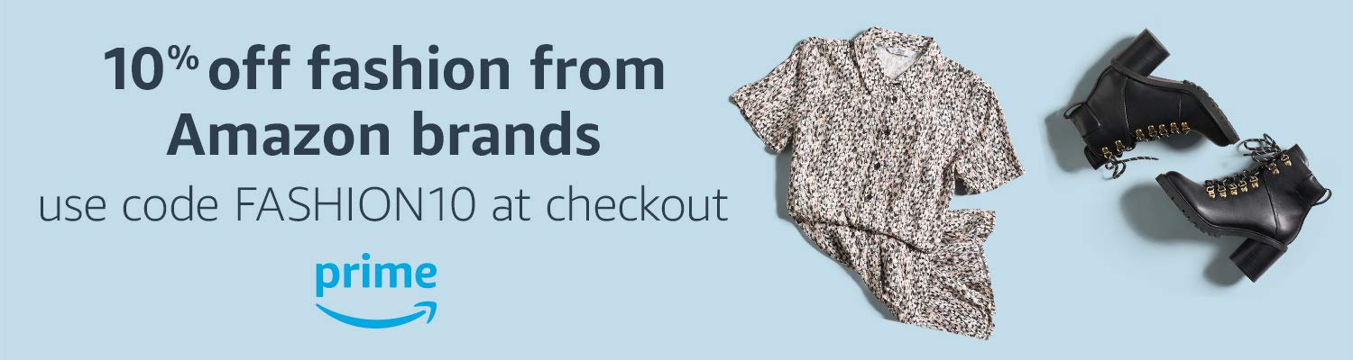 10% off fashion from Amazon brands
