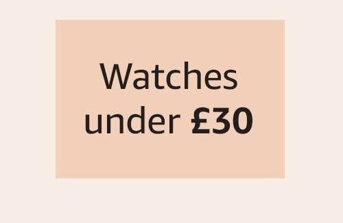 Watches under £30