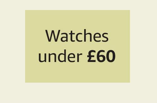 Watches under £60
