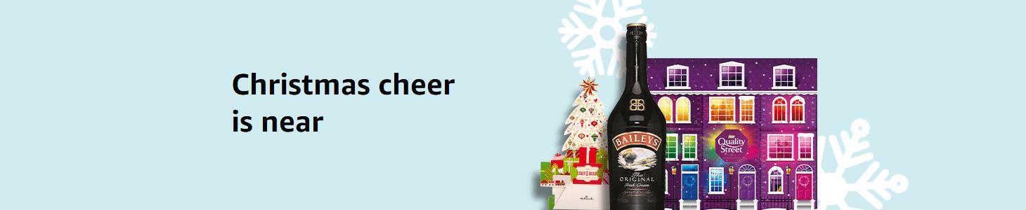 Christmas cheer is near