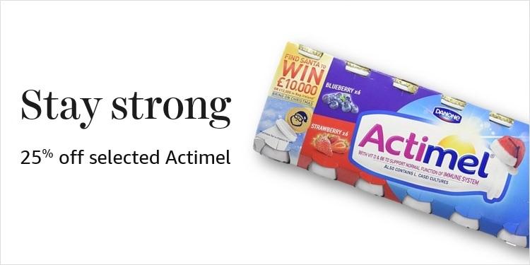 Actimel for £1.50