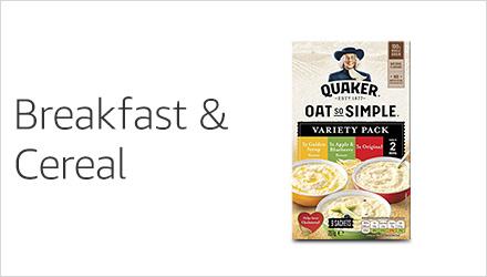 Breakfast & Cereal