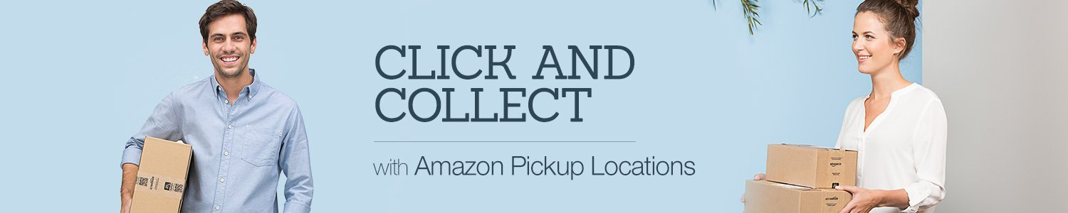 Click and Collect with Amazon Pickup Locations