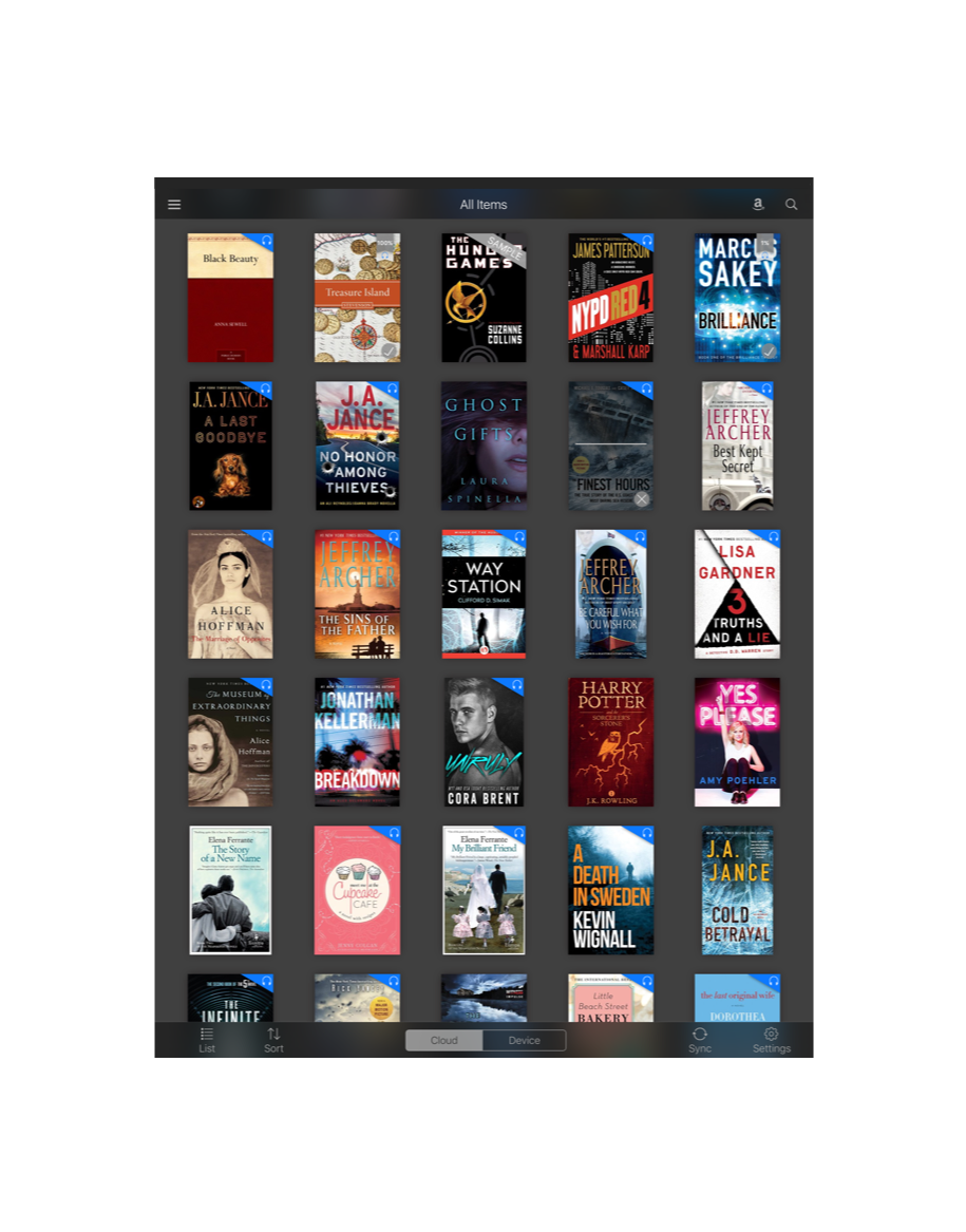 Get the Kindle App and Select Your Book