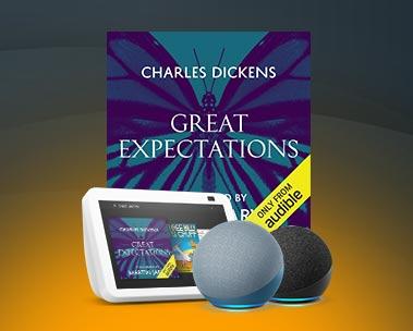 """""""Alexa, read Great Expectations."""""""