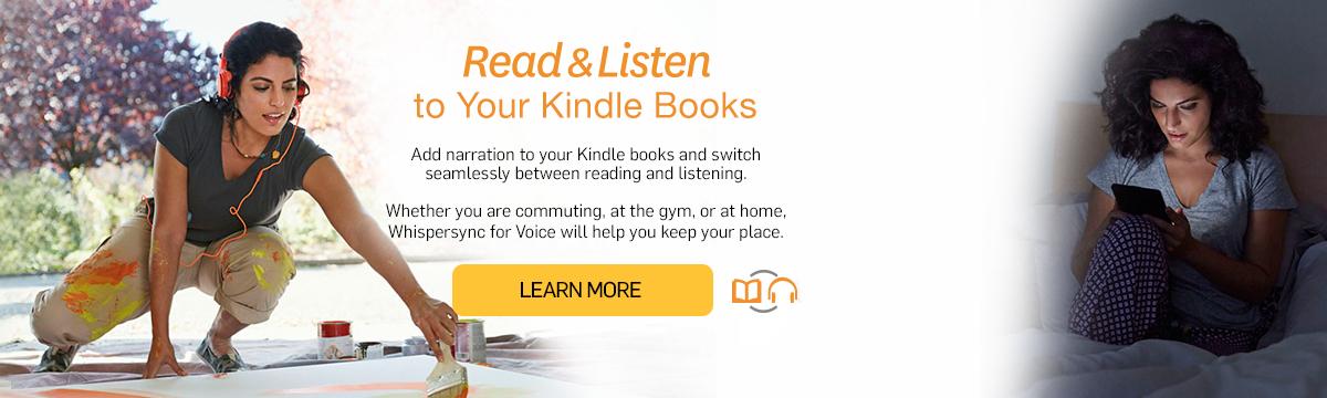 Amazon co uk: Whispersync for Voice: Kindle Store: Editors