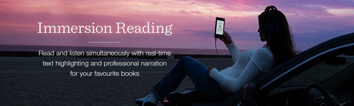 Audible Immersion Reading