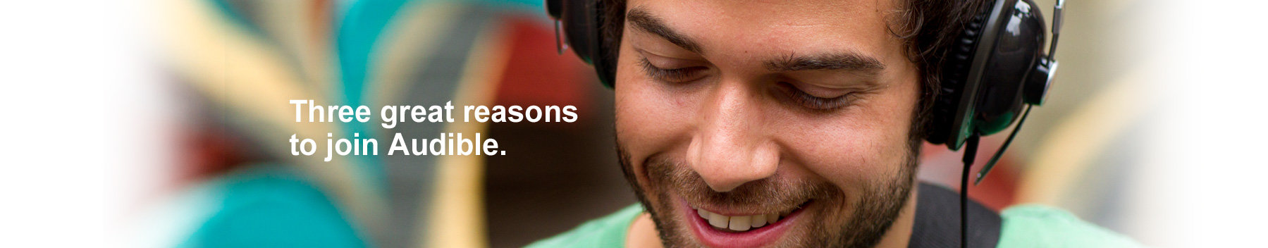 3 great reasons to join Audible.