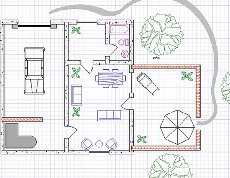 Turbocad designer 2d pc software for 2d blueprint software