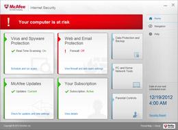 Risk Management screenshot