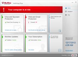 Computer Risk Alerts screenshot