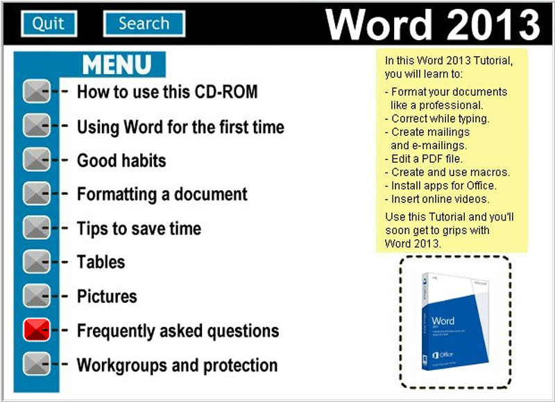 Learn To Use Microsoft Word 2013 (PC)