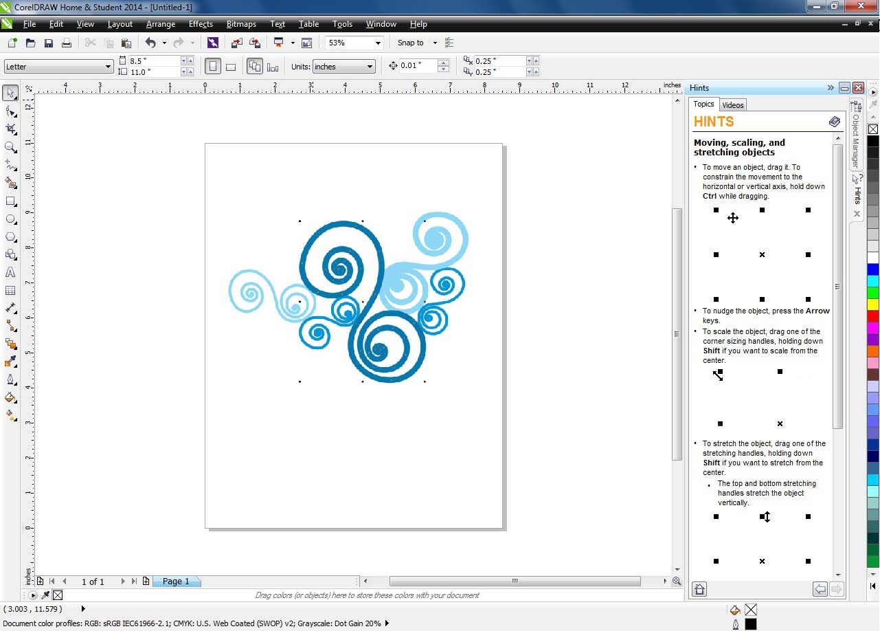 Coreldraw version 12 - Connect