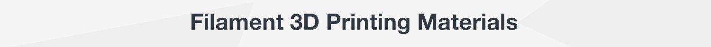 Printing Filaments
