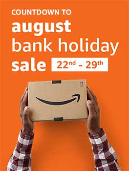 August Bank Holiday Sales Starts August 22