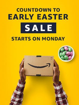 Countdown to the Early Easter Sale